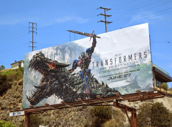 transformers 4 age of extinction billboard