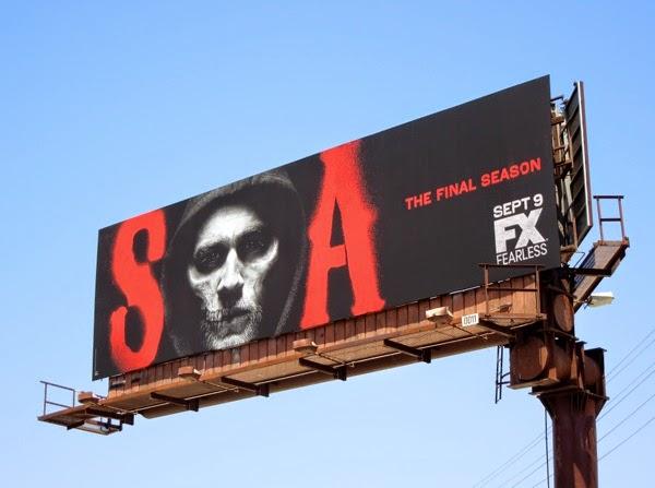 Sons of Anarchy season7 billboard